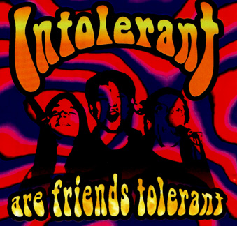 CD-cover Are friends tolerant