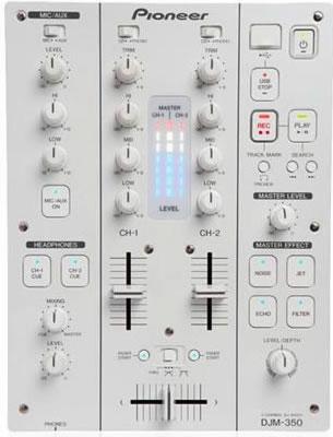 Pioneer DJM 350 White FX Mixer