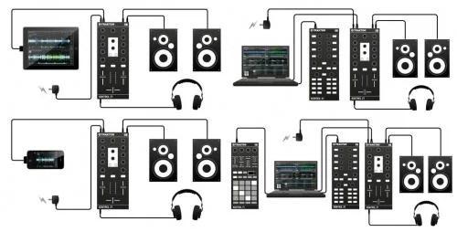 Traktor Kontrol Z1 DJ Midi Software Controller