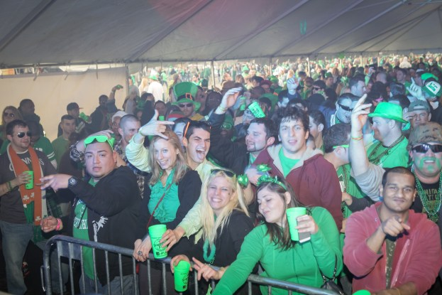 DJ Maskell at Shamrockfest 2013