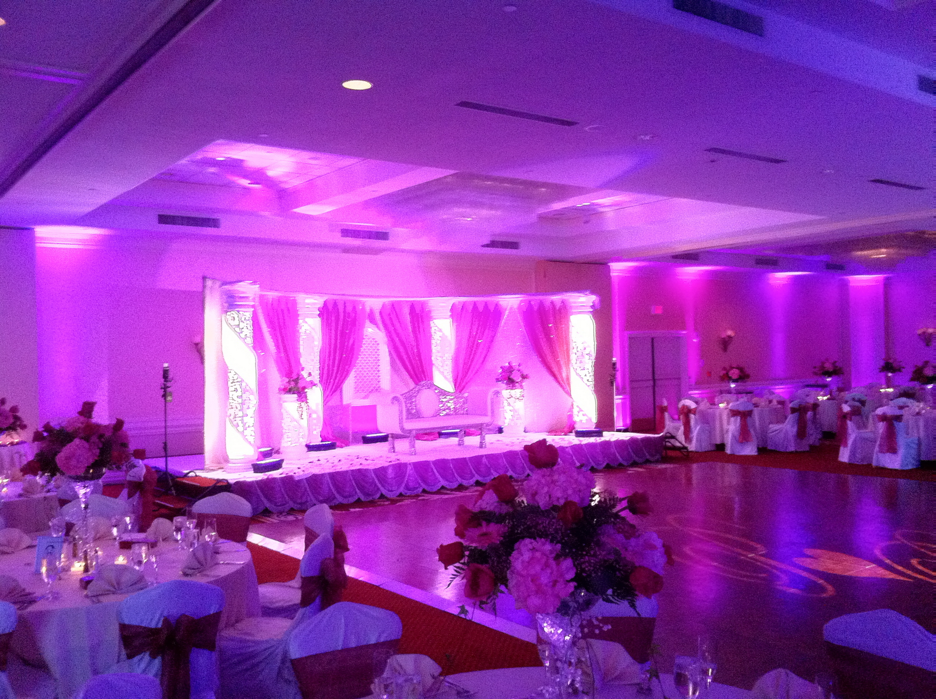 Mandap Backdrop LED 3