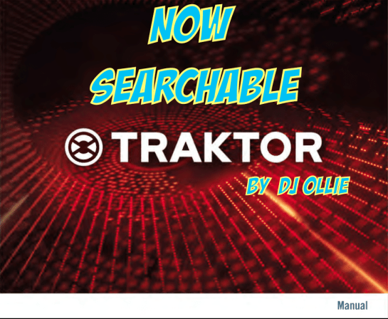 ***Traktor 2 Manual BUG FIXED*** Now Searchable!