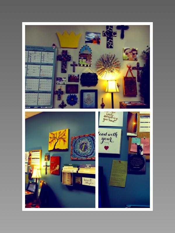 Office picture mosaic