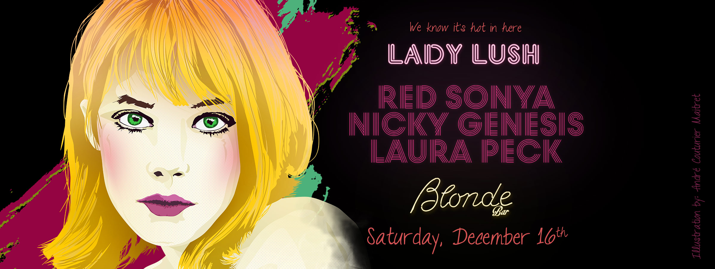 Lady Lush Holiday Party
