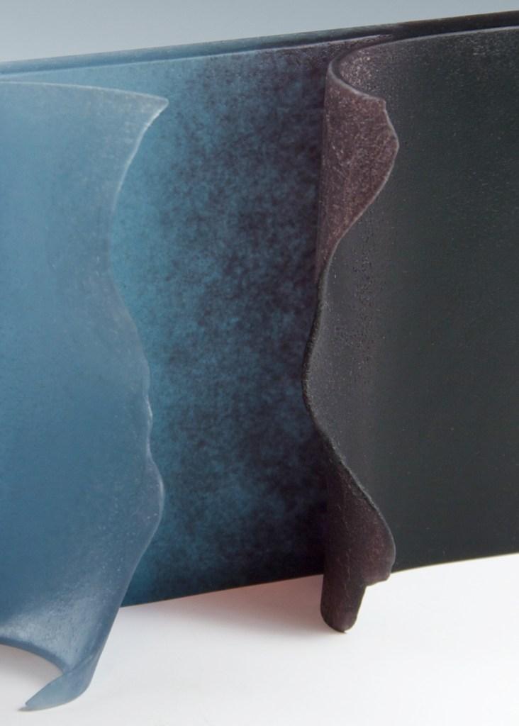 Indigo & Violet Tear Detail