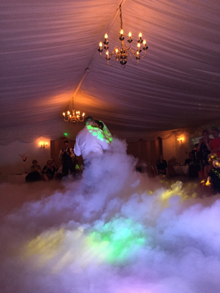 Dancing on cloud wedding DJ Norwich