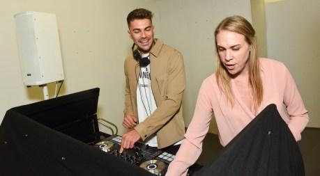 Sam Bird in Norwich supported by Norwich's DJ