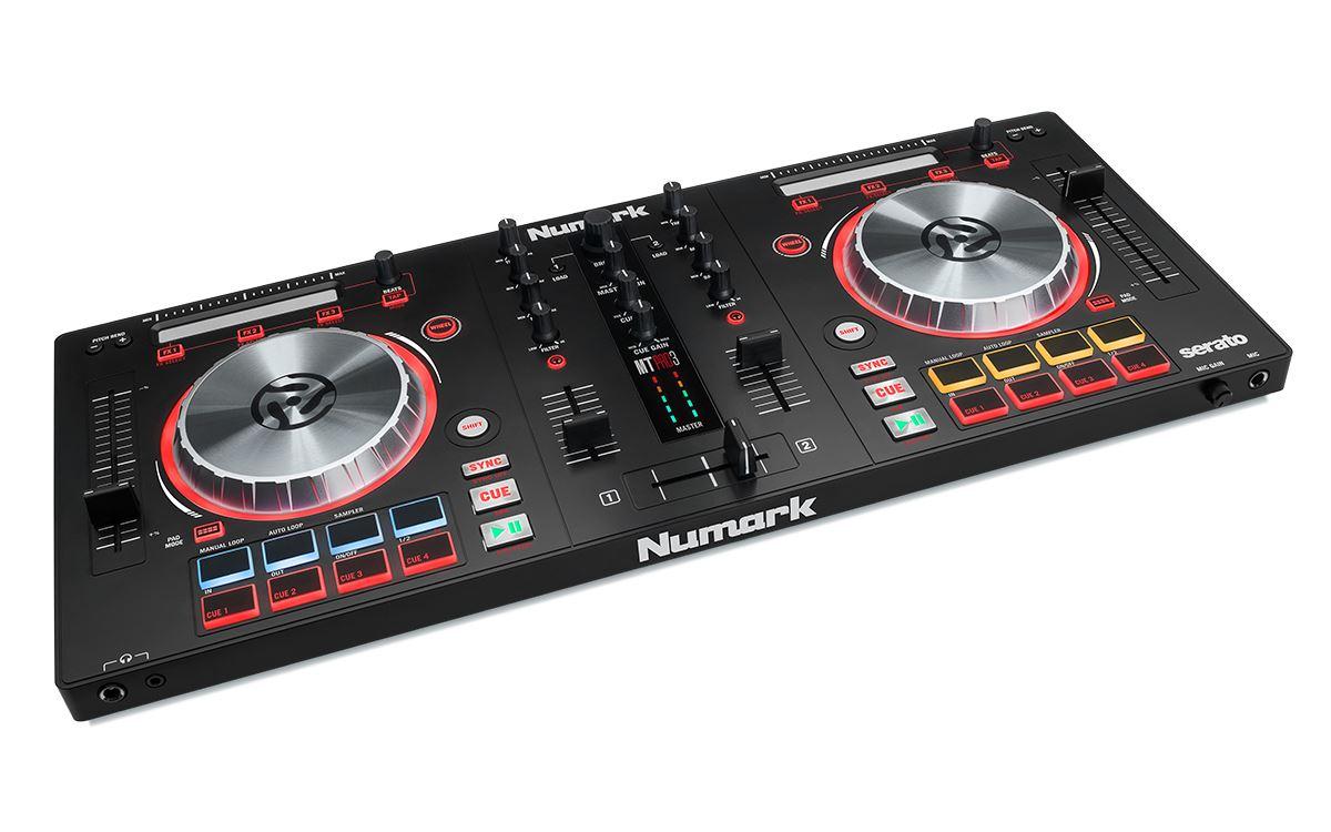 hight resolution of  numark mixtrack pro 3 dj controller