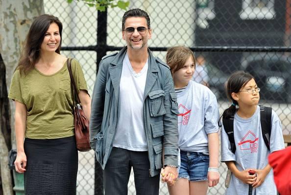 Dave Gahan e Família