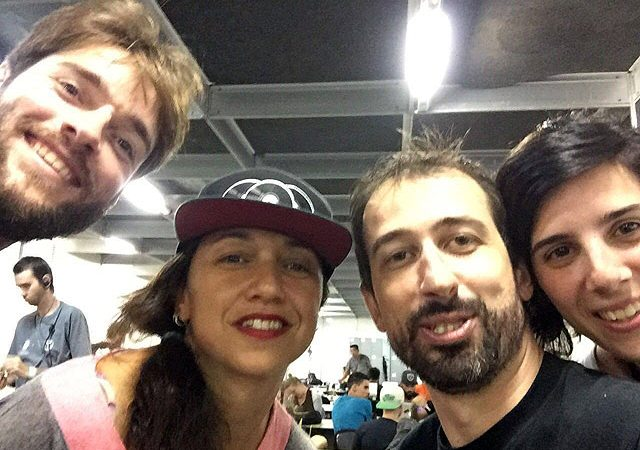 Sergio Molowski Dance Paradise Claudia Assef, Goncalo Vinha e staff-Vice