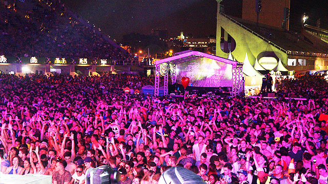 Exclusiva do Ultra Main Stage dia 14 out 2016
