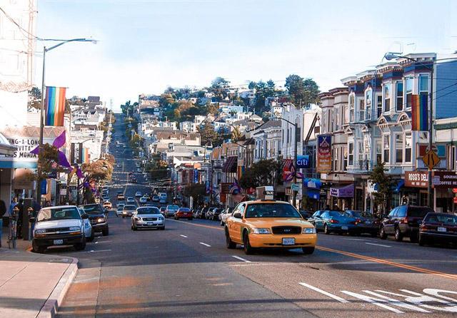 Festa Castro de bairro de São Francisco de EUA.