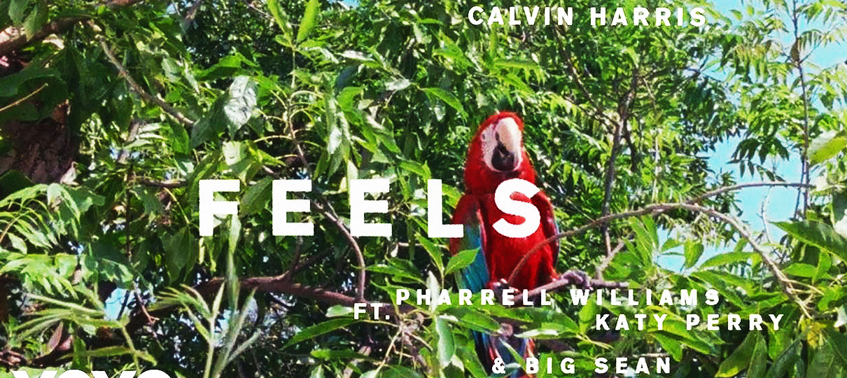 Calvin Harris lança parceria com Pharrell Williams, Katy Perry e Big Sean