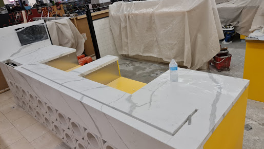 Commercial Stone benchtop 01