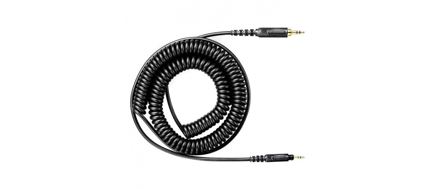 Shure HPACA1 Replacement Coiled Cable For SRH440 / 840