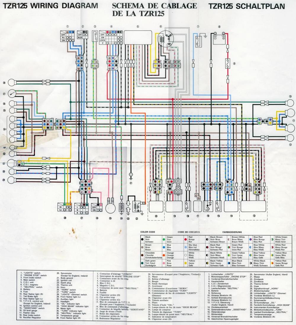 medium resolution of  tzr125 wiring diagram 2 dj unreal s 2 stroke documentation storage site 1975 yamaha dt 125 wiring