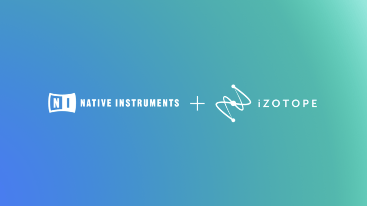 Native Instruments & iZotope Now Partners