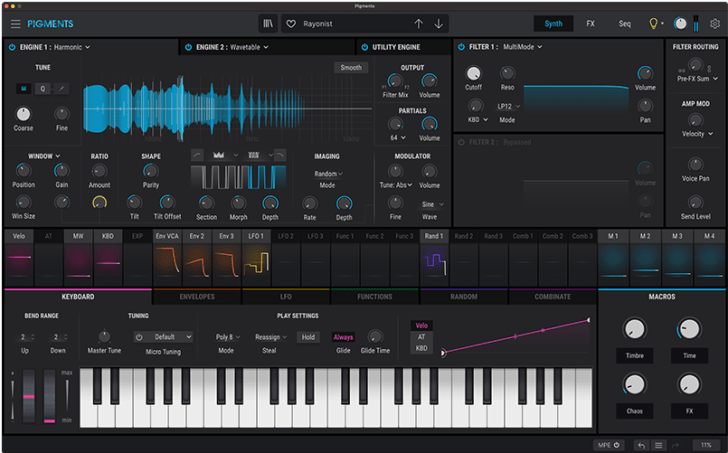 Arturia Pigments 3 Adds Additive Synthesis, New Wavetables & More