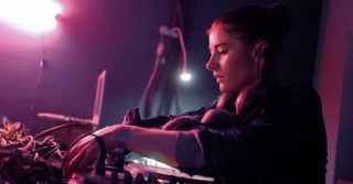 Russian producer and audio engineer Anna Fruit