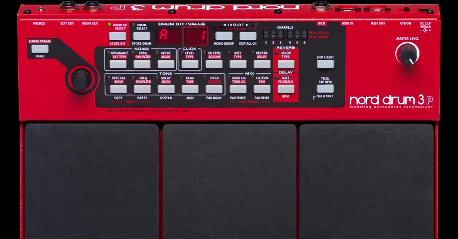 Nord Drum Patch Editor Now Available