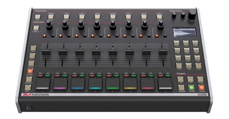 Free Update For Isla Instruments S2400 Sampler Adds 10 Channels Of USB Audio & More