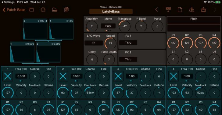 Patch Base Adds Yamaha Reface DX Editor & Librarian
