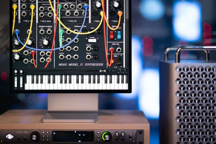 Free Moog Model 15 Update Lets You Use It In Your DAW
