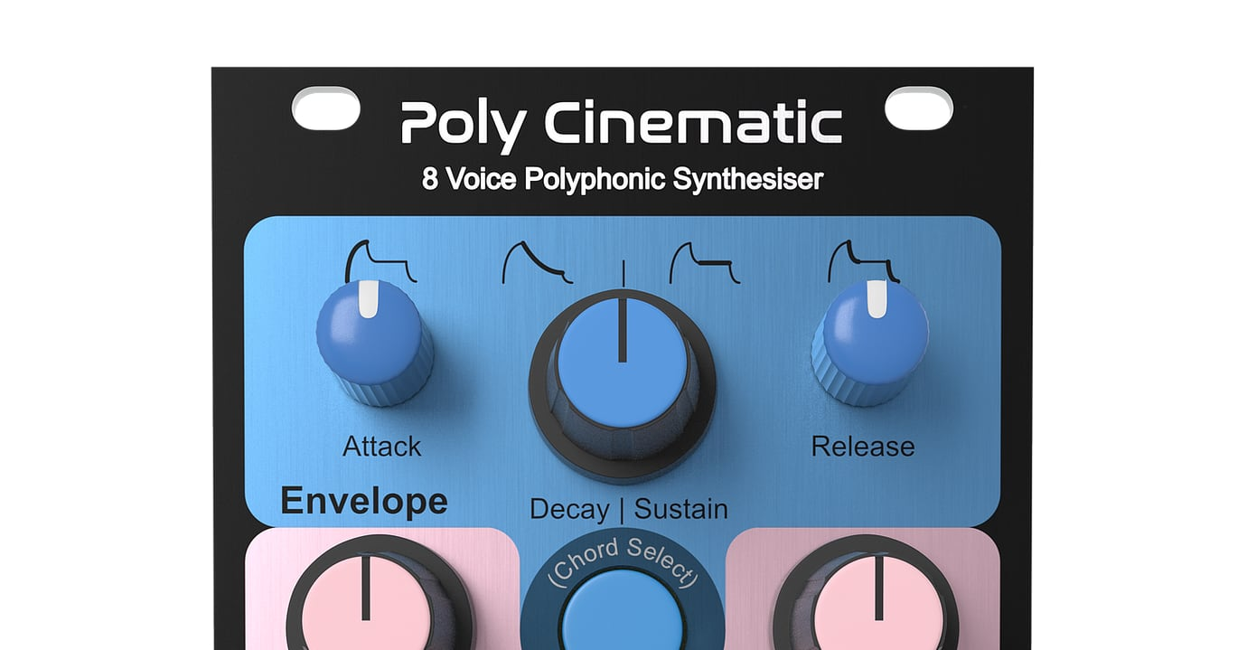 Knobula Poly Cinematic An 8-Voice Polyphonic Synthesizer In Euro Format