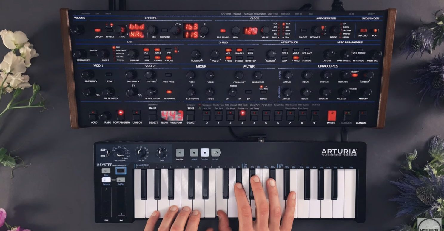 Sequential OB-6 Patches for Ambient, Electronica & Techno – 'Ergosphere'