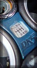 BMW MINI シフトパターン カラー:ブルー
