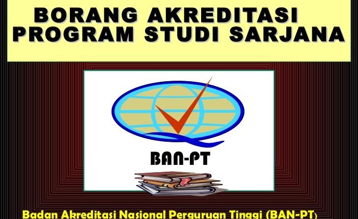 borang akreditasi institusi