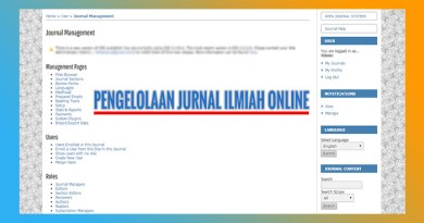 pengelolaan jurnal ilmiah online