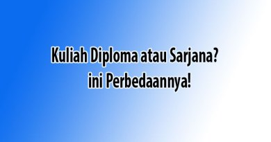 kuliah diploma atau sarjana