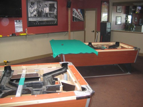 Coin Operated Pool Tables How Do They Work Pool Table Service - Valley bar pool table for sale