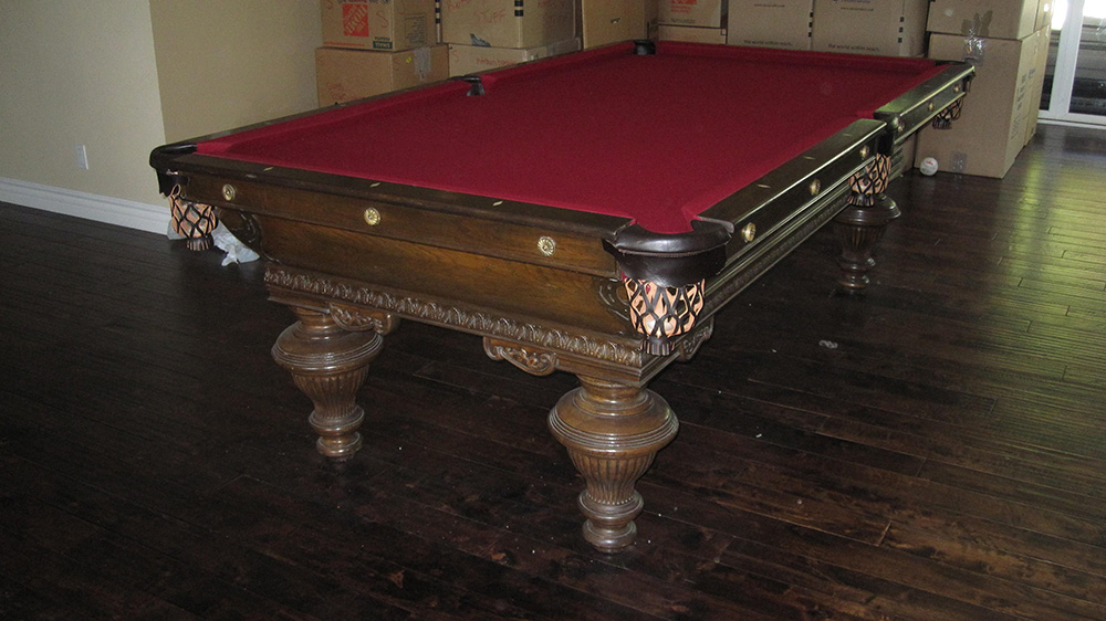 How To Move A Pool Table In The Same Room