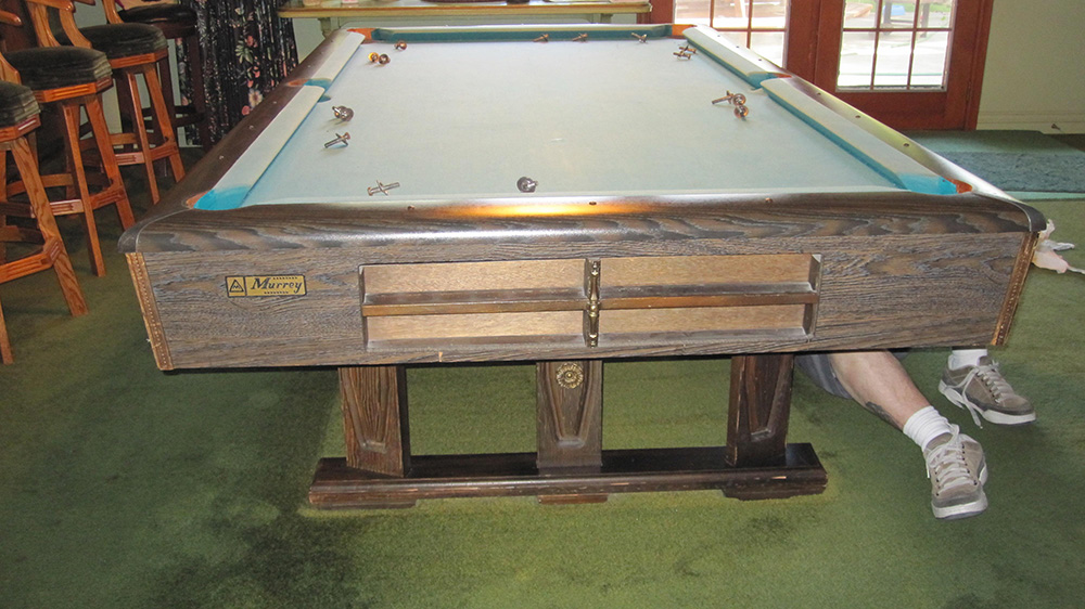 S Murrey Pool Table Pool Table Service Billiard Supply - Murrey billiard table