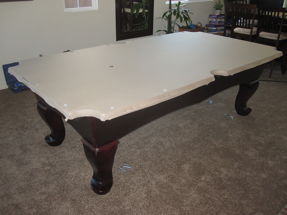 CL Bailey Elayna Pool Table Install Pool Table Service - Cl bailey pool table