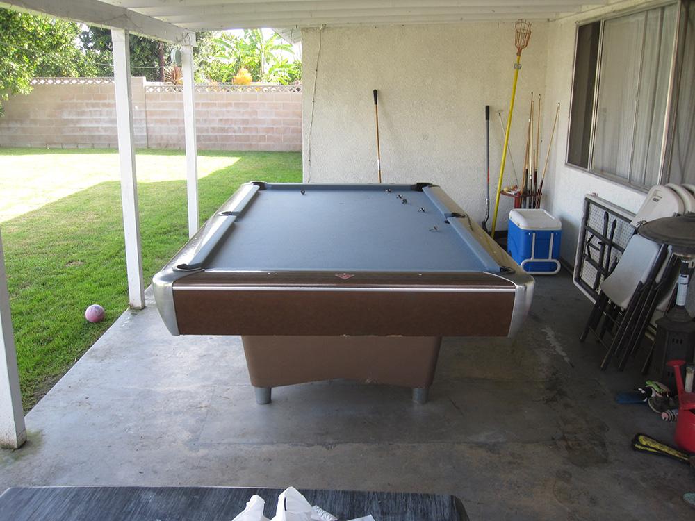 Nine Foot AMF Patio Pool Table Pool Table Service Billiard - Amf pool table models
