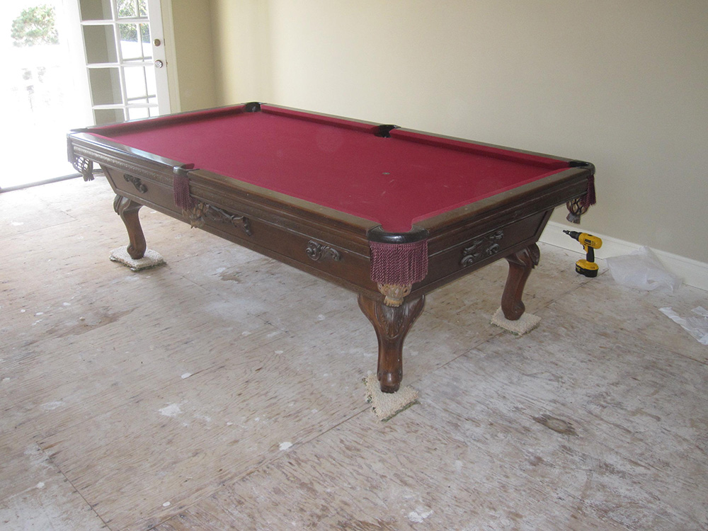Blog Page Of Pool Table Service Billiard Supply Orange - Move my pool table