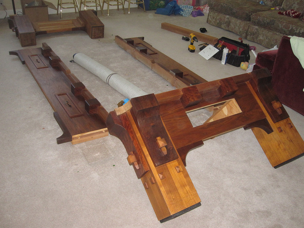 How To Get 1000 Lb Pool Table Downstairs Dk Billiards