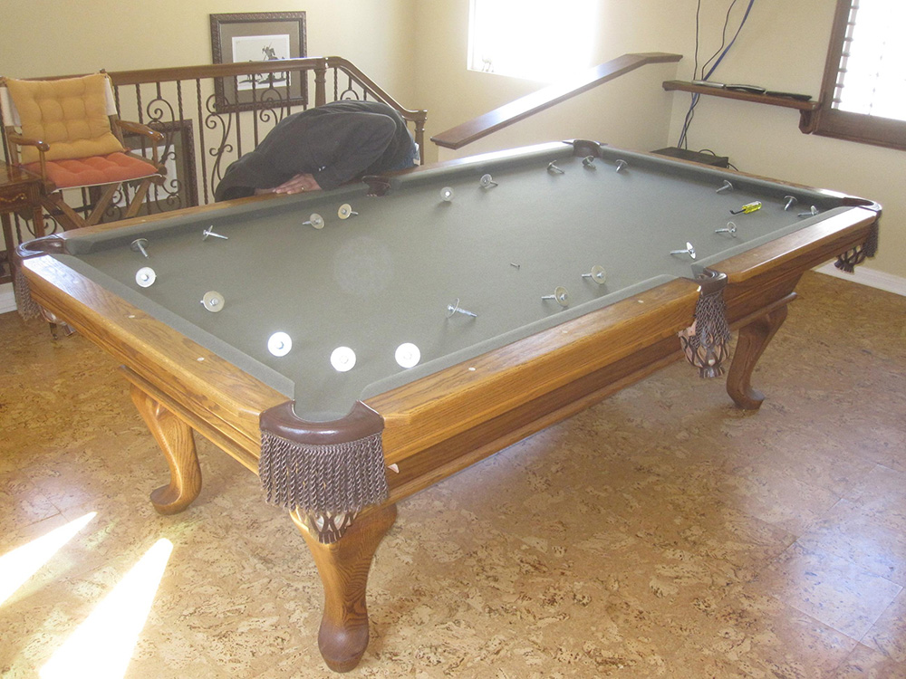 Last Week My Assistant And I Were Contracted To Move A Heavy Pool Table  From Ladera Ranch, CA To Mission Viejo, CA. The Pool Table Custom Built By  By A Guy ...