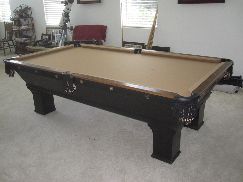 1900 s brunswick install dk billiards pool table movers for Brunswick pool tables