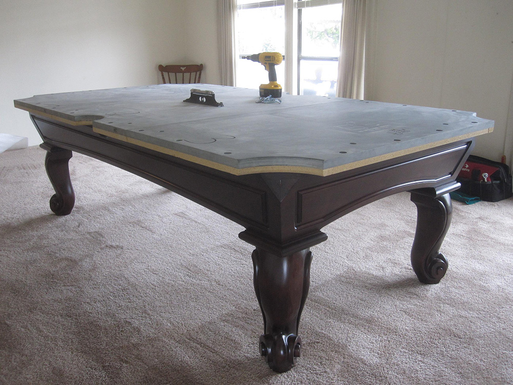 San Carlos In A Double Wide Pool Table Service Billiard - How wide is a pool table