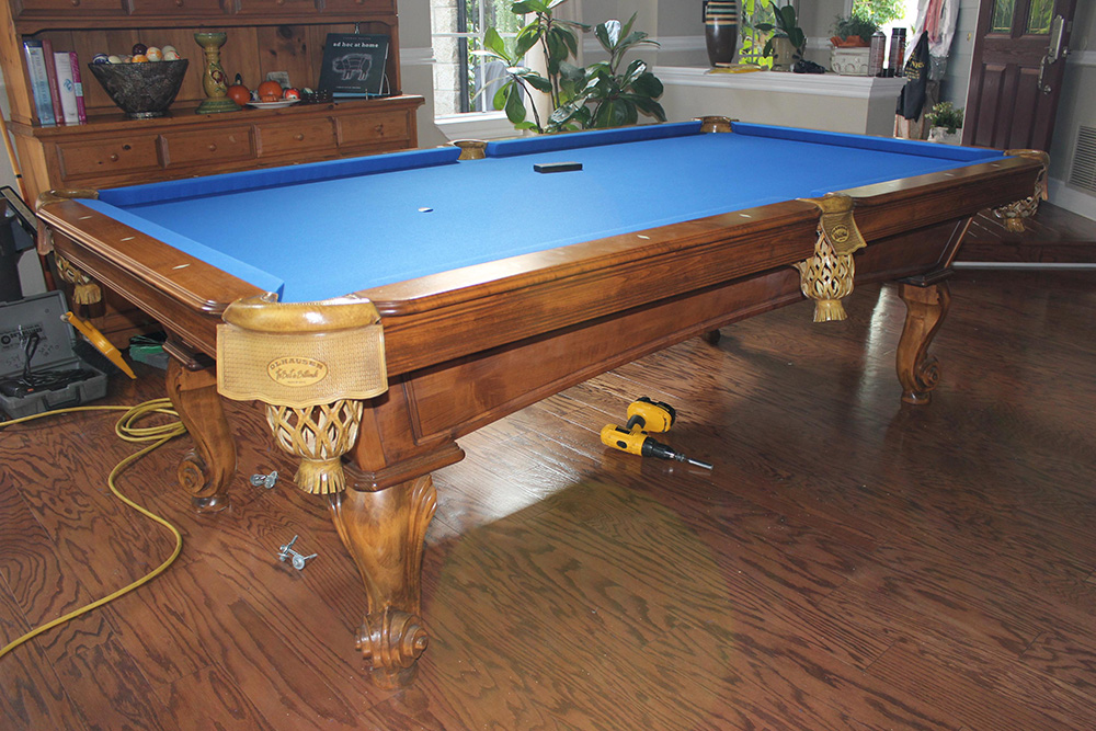 Ordinaire Seattle Pool Table Transplanted To The O.C.