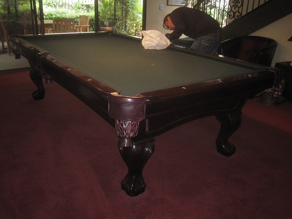 How To Safely Move A Pool Table Long Distance