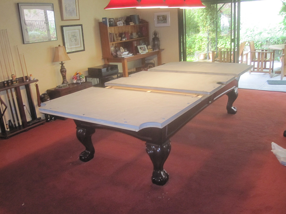 Here Is A Recent Pool Table We Serviced For Our Clients In Glendora, CA.  The Couple Bought This Nine Foot CL Bailey U201cForsythu201d From Our Pool Table  Store ...