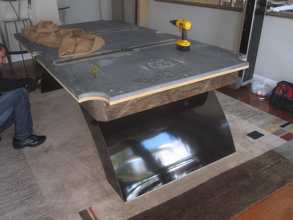 Modern Murrey Makes Move To Garage Pool Table Service