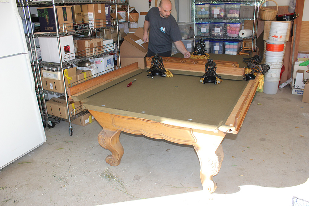 The Great Delmo Pool Table Reunion Pool Table Service Billiard - Pool table movers austin tx