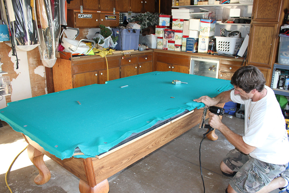Best Herus An Older Olhausen Pool Table We Just Moved And Setup In Our  Clientus Two Car Garage This Pool Table Install Was A Little Different Than  Usual ...