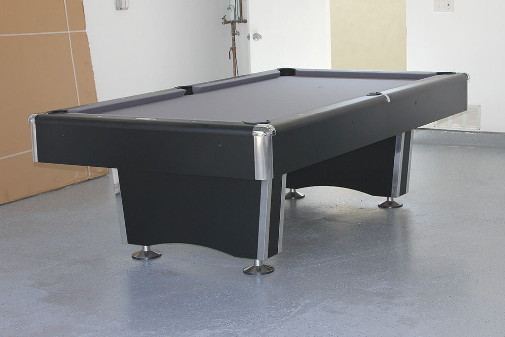 Parking Your Pool Table In The Garage Pool Table Service - Pool table in garage